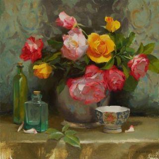 Рисунки цветов. Laurie Kersey