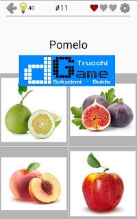 Soluzioni Frutti, verdure e noce livello 11