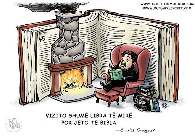 Bibla, libra te krishtere, spurgeon shqip, sperxhen,