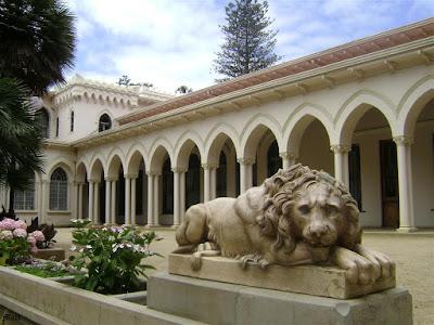 Palacio Vergara (Vergara Palace), Viña del Mar, Chile.