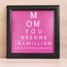 Eye Test Wall Frame, Mother's Day Gifts Ideas in Port Harcourt Nigeria
