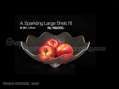 Sparkling Large Shell ~ Tupperware Promo Oktober 2016