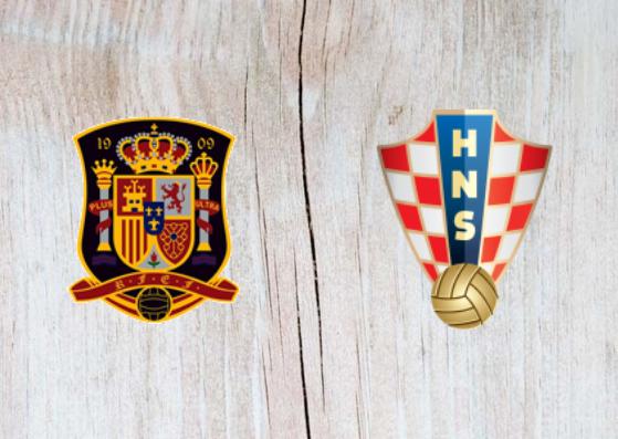 Spain vs Croatia Full Match & Highlights 11 September 2018