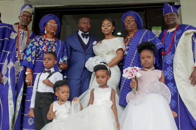 Class, Glamour As Oyenike Weds Yinka In Lagos (Pix)