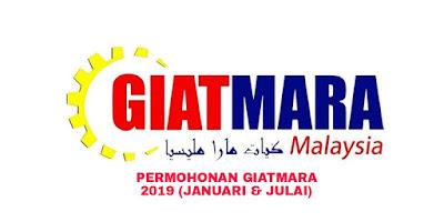 Permohonan GIATMARA 2019 Online (Januari & Julai)