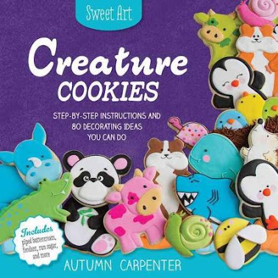 http://www.amazon.com/Creature-Cookies-Step---Step-Instructions/dp/1589238575/ref=sr_1_1?ie=UTF8&qid=1440126452&sr=8-1&keywords=creature+cookies