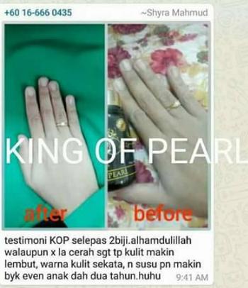 king of pearl mutiara asli
