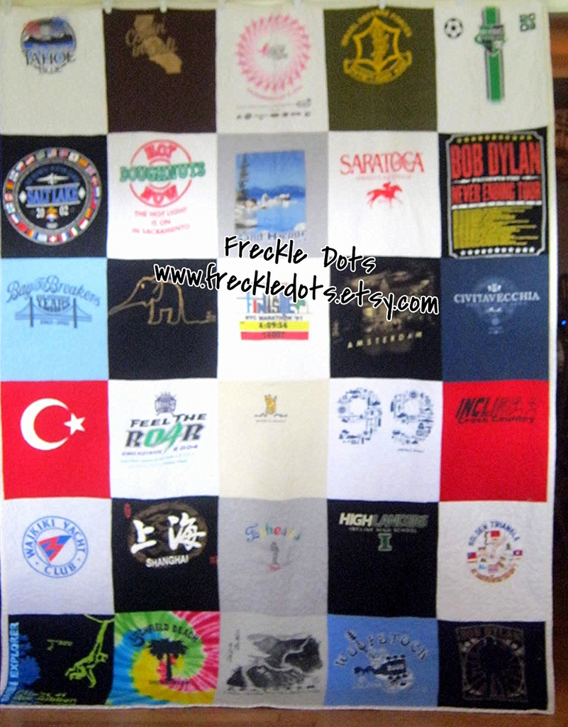 Eclectic Technique Using Liquid Starch For T Shirt Quilts