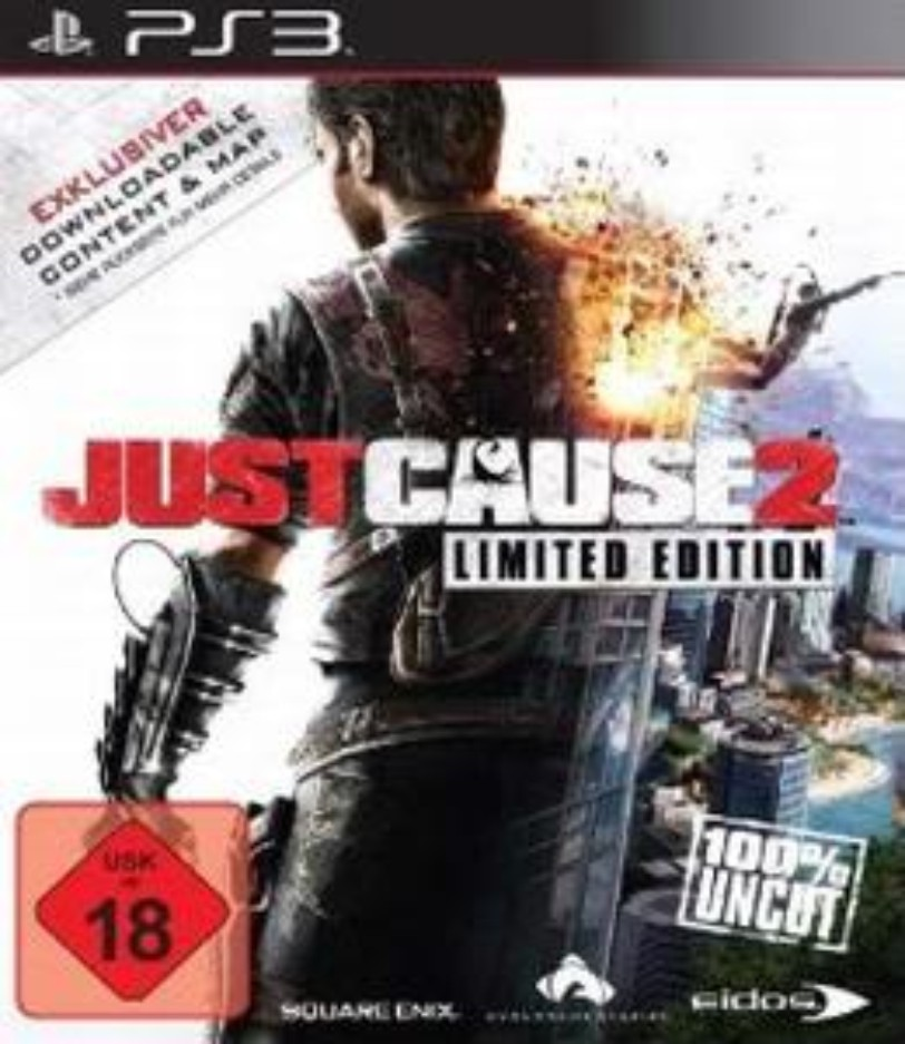 Just Cause 2 - PS3 ISO - Free Download PC Games