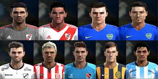 Faces Liga Argentina 2016 Pes 2013