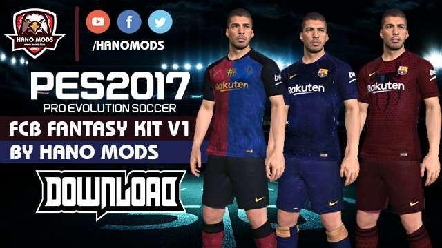 58d10a16f PES 2017 FC Barcelona Fantasy Kits 2019 V1.0 - Kits by Manolucas
