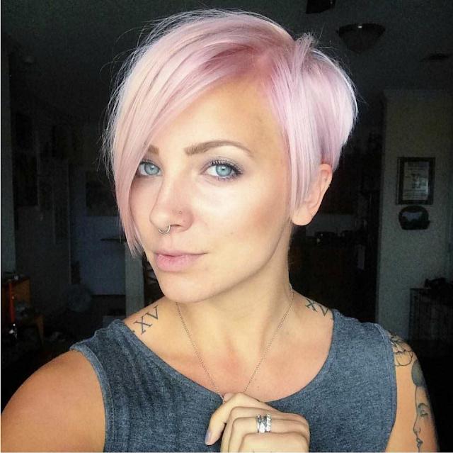 hair color for short hair 2019