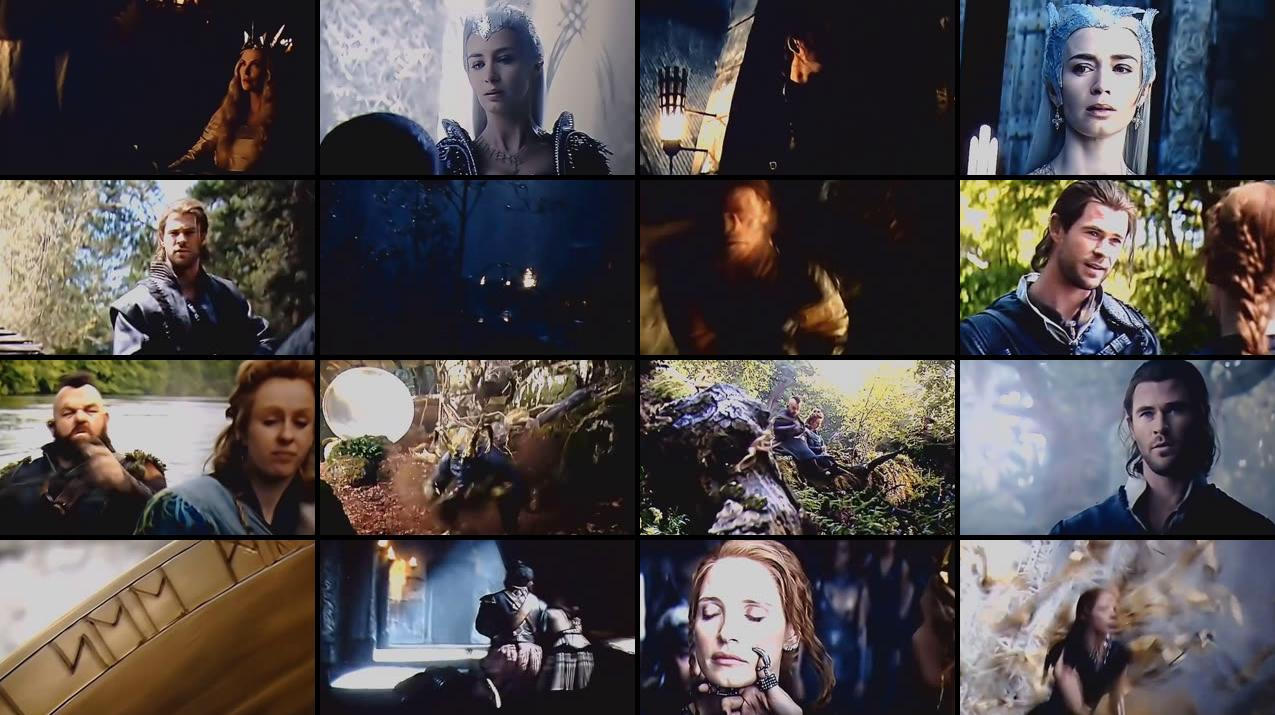 The Huntsman Winters War 2016 HDTS 500MB Screenshot