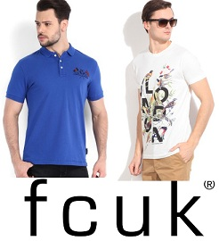 French Connection T-Shirts & Shirts Min 70% Off @ Flipkart