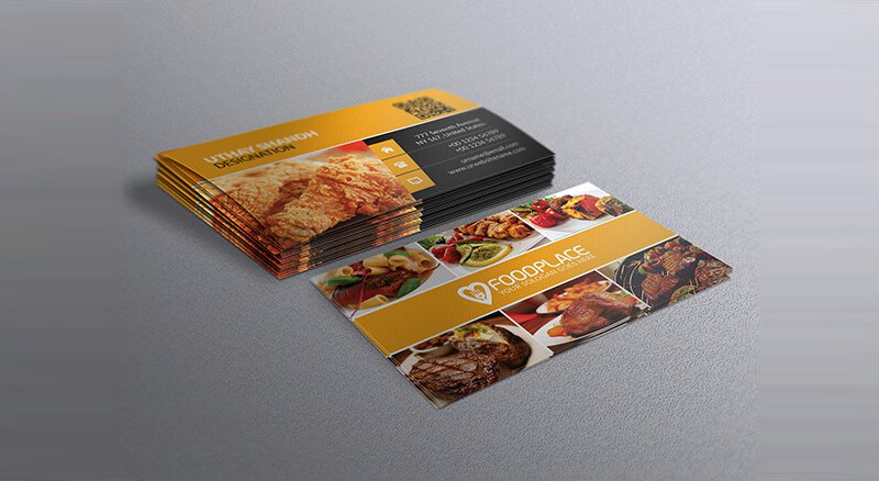 Restaurant Business Cards Templates Free Backstorysports With - Free business cards templates photoshop