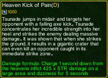 naruto castle defense 6.6 Stunade Heaven Kick of Pain detail