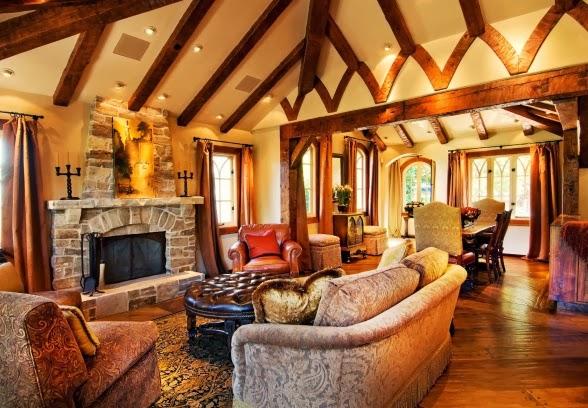 Orange Sofas Ebay Mid Century Modern Sofa With Chaise Eye For Design: Decorating Tudor Style