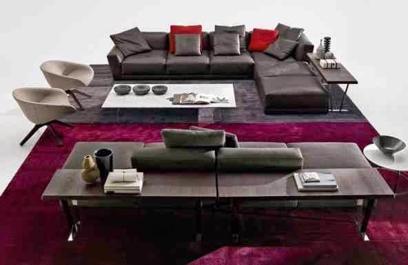 Ultra modern italian furniture design for living room by b b for Ultra modern italian furniture