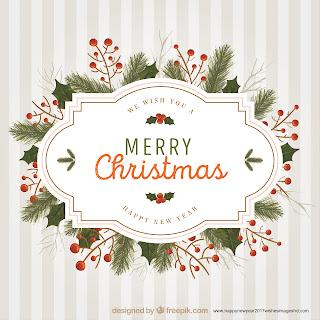 Merry Christmas 2017 Happy New Year