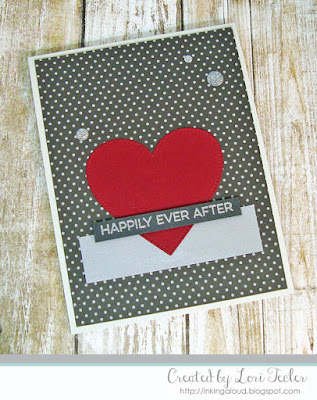 Happily Ever After card-designed by Lori Tecler/Inking Aloud-stamps and dies from My Favorite Things