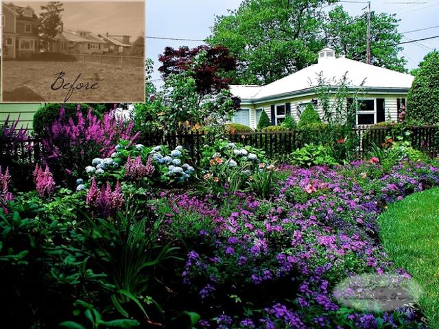 How to make a storybook cottage garden for Cottage garden design