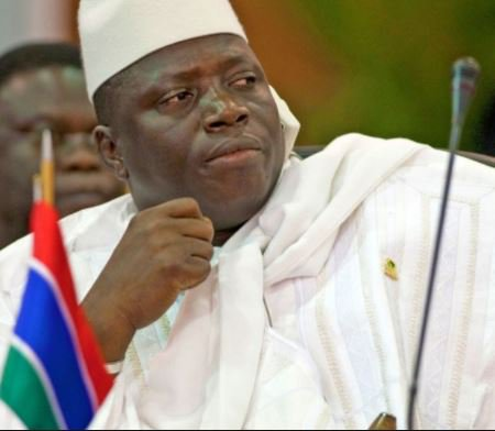 Gambia's ex-President, Yahya Jammeh blacklisted by the US