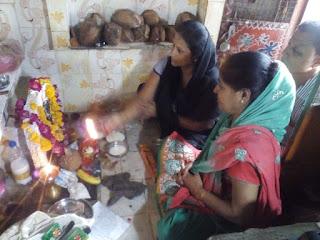 सिंधी परिवारों में नागपंचमी को नहीं जला चूल्हा मनाया गोगड़ा पर्व