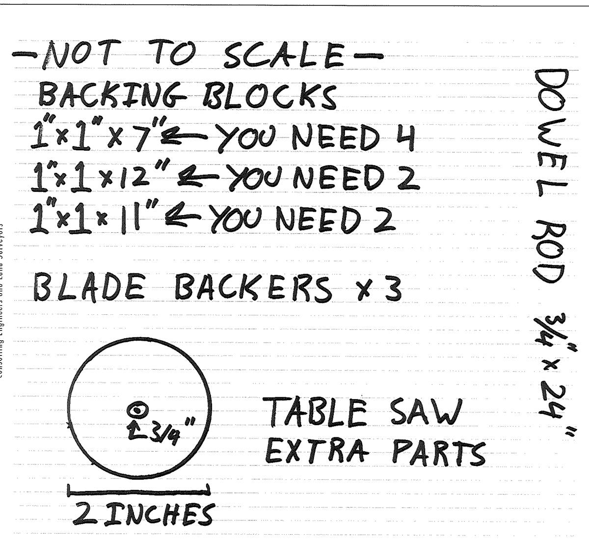 Nelsonstudios Toy Table Saw Plans