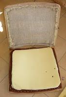 naprawa tapicerki fotela
