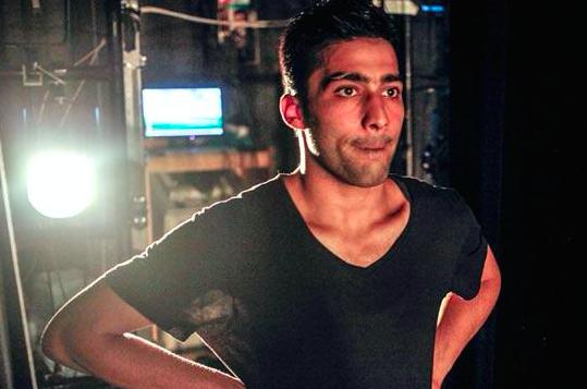 Le danseur Adil Faraj