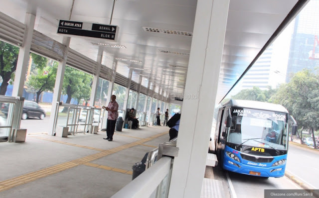 Bus Transjakarta Rute Tangerang Telah Beroperasi