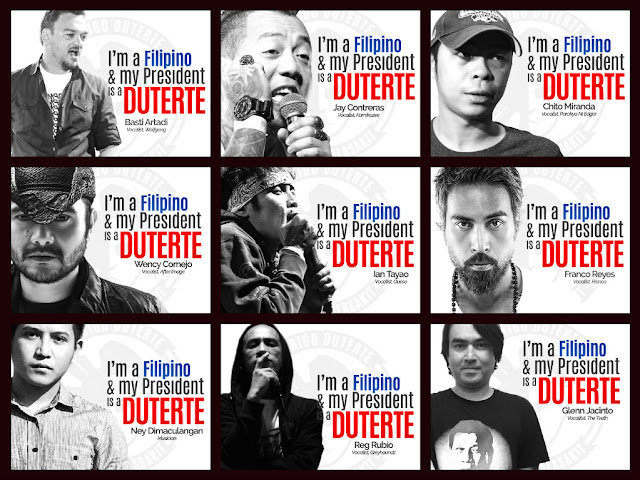 Legion of Duterte's celebrity supporters