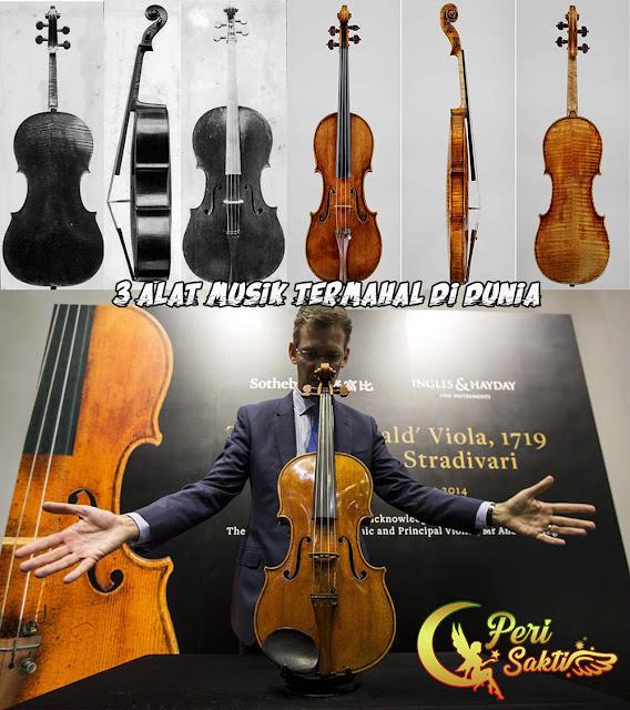 3 Alat Musik Termahal di Dunia