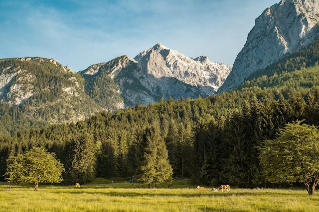 Höllentalklamm und Hupfleitenjoch  Wanderung Garmisch-Partenkirchen 02