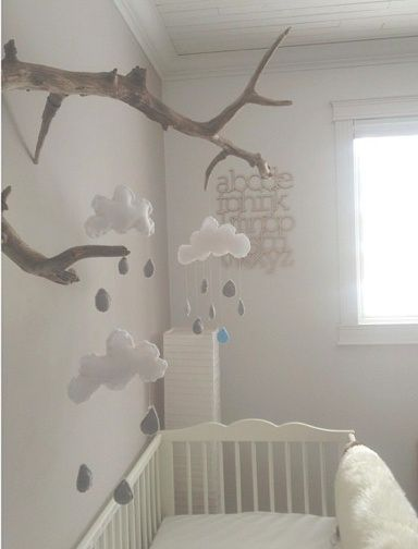 Beautiful Decoration Chambre Bebe Nuage Ideas - Yourmentor.info ...