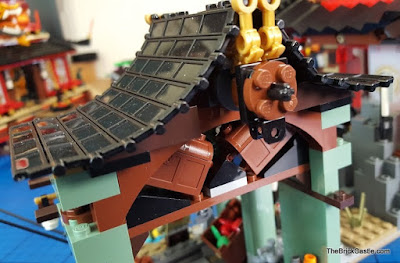 LEGO Ninjago Temple Of Airjitzu Smugglers Market Roof Treasure