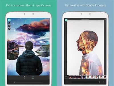 Aplikasi Edit Foto Melayang Android Pixlr Express