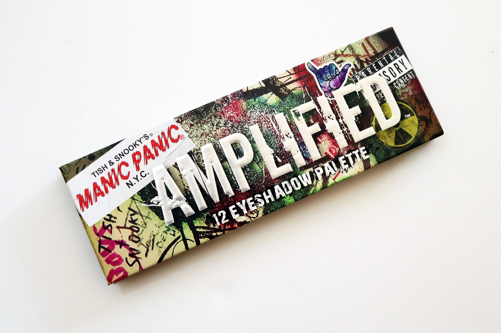 manic panic amplified eyeshadow palette review