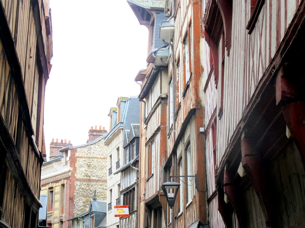Rouen Normandy street