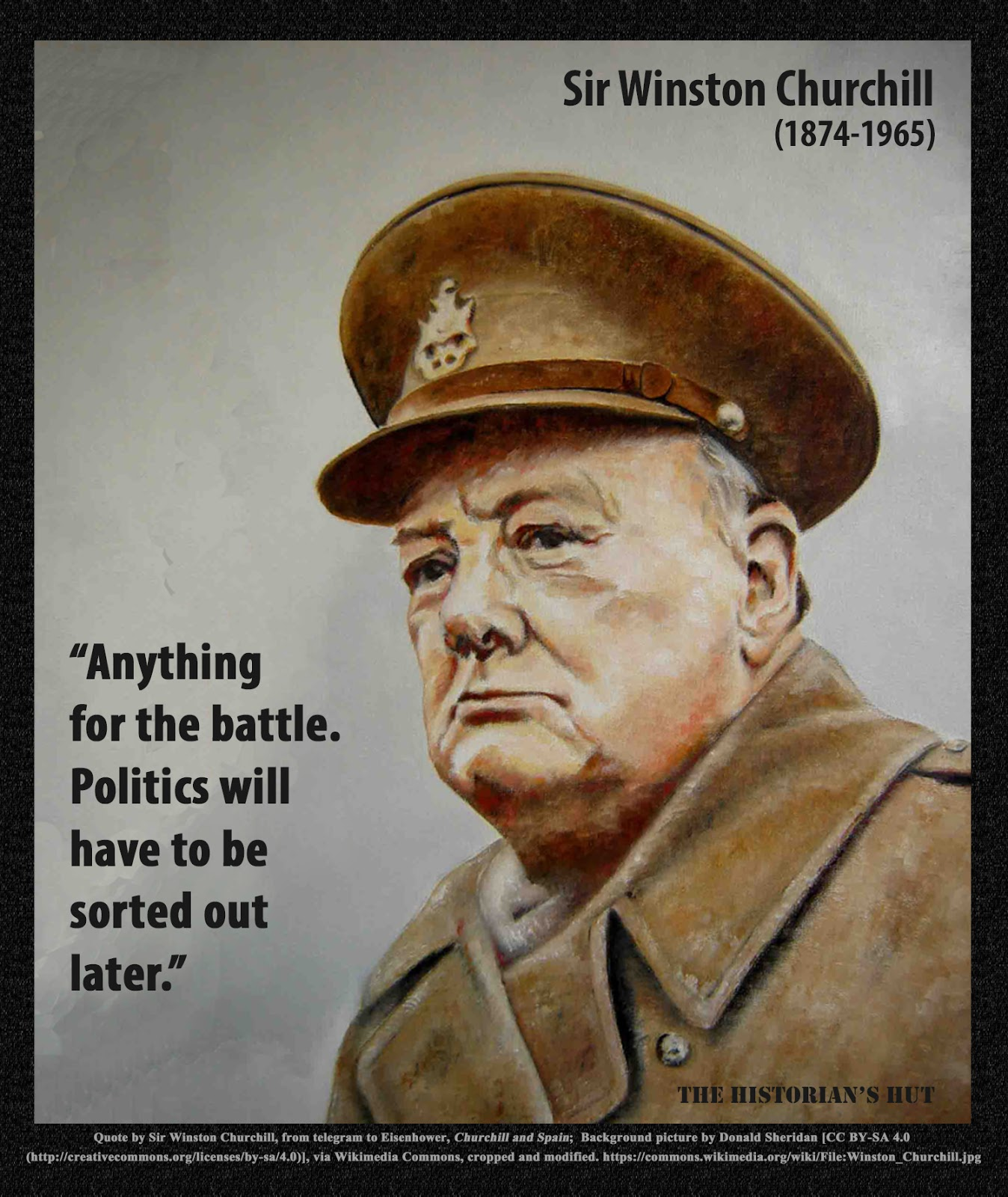 Picture Winston Churchill Quo: The Historian's Hut Quote Pictures: March 2017