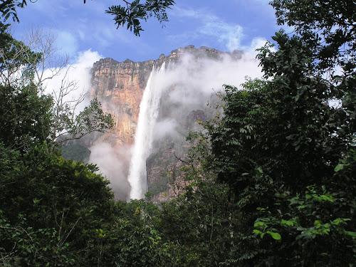 cachoeira mais alta do mundo