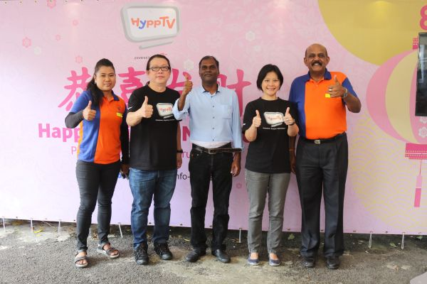 HyppTV CNY Celebration at PJ Caring Home