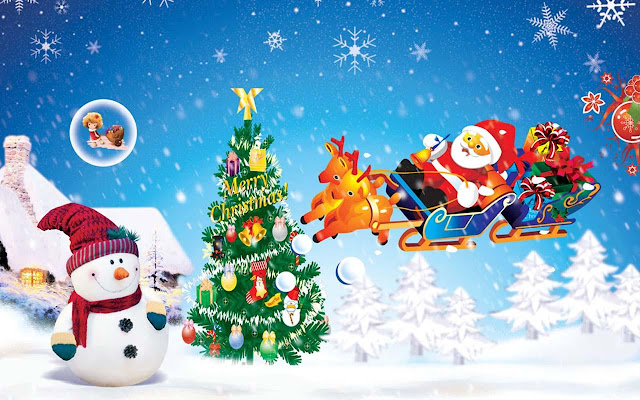 Merry Christmas Images GIF 3D Wallpapers HD Photos Pics
