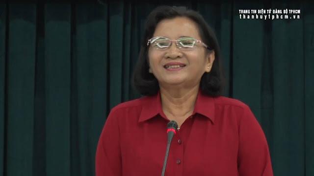 Trưởng ban Tuyên giáo Thành ủy TPHCM Thân Thị Thư