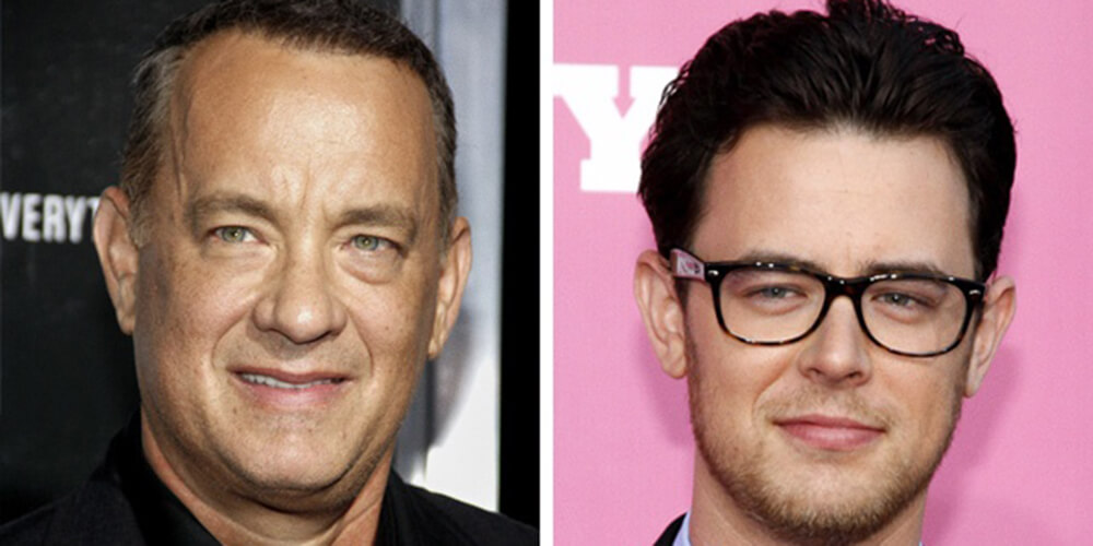 Tom Hanks e Colin Hanks