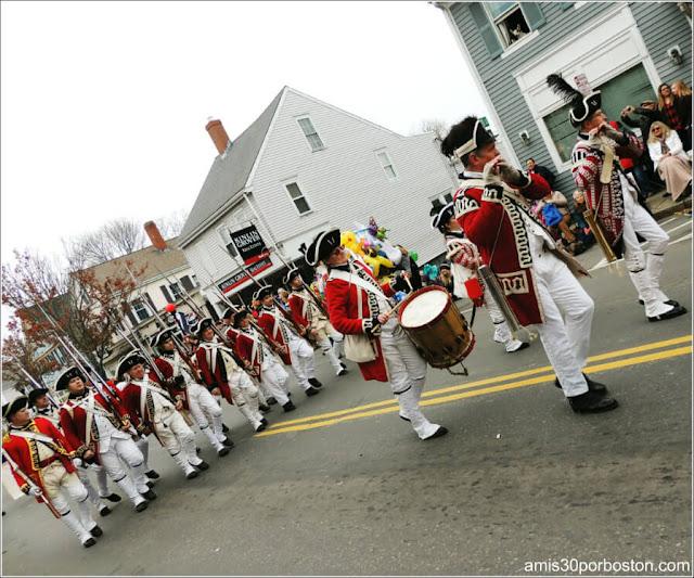 Bandas de Música del Desfile de Acción de Gracias en Plymouth