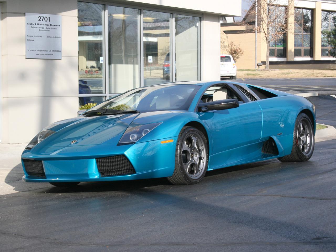 Auto- & Verkehrsmodelle Lamborghini Murciélago 40th Anniversary 2003