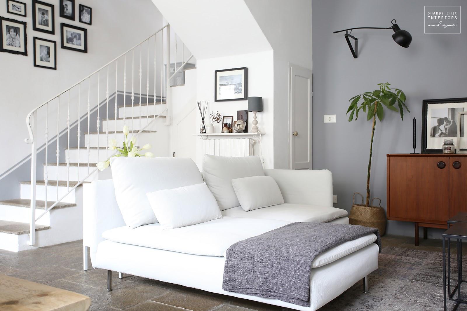 Divani Shabby Chic Ikea : Un divano nuovo per il mio salotto shabby chic interiors