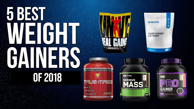 5 Best Weight Gainers of 2018
