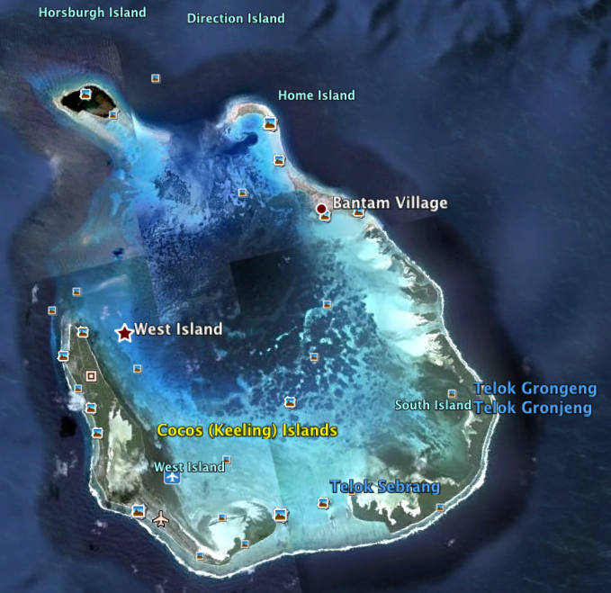 Cocos Island: Jennifer Spry's Birding Blog: Cocos (Keeling) Islands